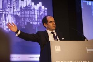 Antonio speaking FT conf